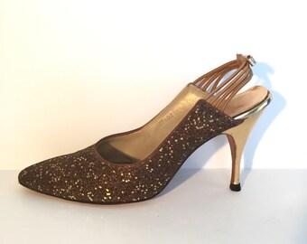 Jacqueline Gold Slingbacks Size 8
