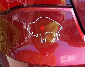 Buffalo Love decal