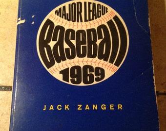 1969 Major League Baseball Book by Jack Zanger