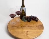 Large Bouchard Pere et Fils Wine Crate Lazy Susan