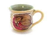 Raven Pottery Mug