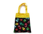 Handmade Fabric Monster Gift Bag/Goodie Bag - Monsters