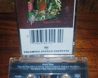AerosmithToys in The Attic Vintage Cassette Tape