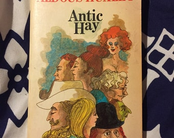 Antic Hay by Aldous Huxley Vintage Paperback Book