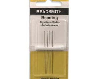 Needles Beading #12 4/PK , Special Needles for Seed Beads