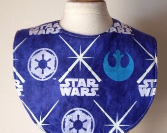 SALE! Star Wars glow in the dark baby bib