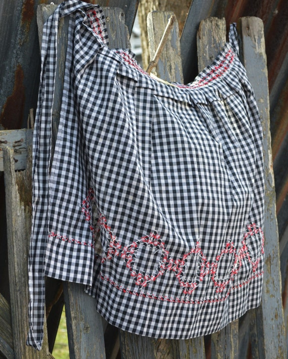 Vintage Country Apron Buffalo Gal Vintage