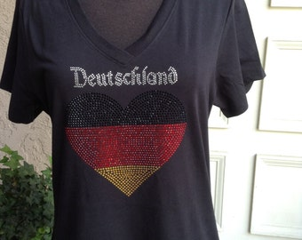 Deutschland Short Sleeve T Shirt