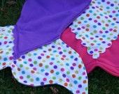 Fleece Mermaid Tail Blanket, child MED