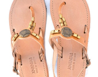 ANANIAS Roman Greek leather sandals