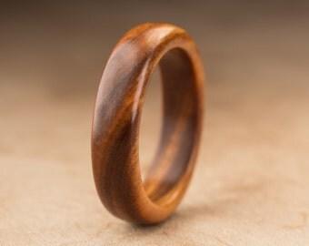Size 8.75 - Guayacan Wood Ring No. 393