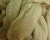 Ashland Bay Solid Camel Color Merino Wool Roving