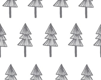 Fabric Wall Decal - Trees (reusable) NO PVC