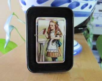 Alice In Wonderland Drink Me Refillable Windproof Lighter