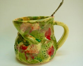 Ugly Mug -Coffee/Tea mug-stoneware mug