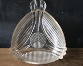 Glass Art Deco Dish Antique From Nowvintage on Etsy