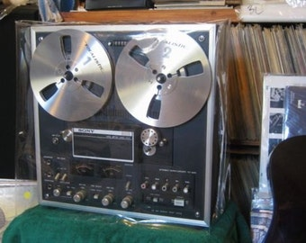 Clear Vinyl  Dust Covers for your Reel to Reel Tape Recorders and   Other High Tech appliances.