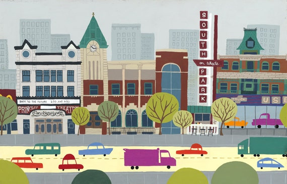 Edmonton - Whyte Ave | A Unique Take on Alberta's Capital City Landmarks and Surrounding Area