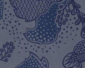 NEW True Colors from Anna Maria Horner Filigree in Dusk half yard YES!!! I combine shipping and use flat rate shipping