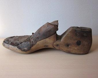 Wooden Men's Shoe Last