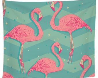 Flamingo Birds Tapestry