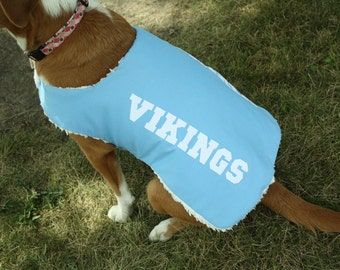 Large Custom Team Dog Coat
