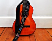Custom Chemistry Guitar Strap - Big Bang Theory? - Personalized Science Guitar Strap- Periodic Table Music Strap
