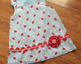 Little girls, toddlers A-line jumper - Size 2t