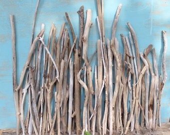 Driftwood , Branches and Sticks for Beach Wedding Centerpiece , Drift Wood Supplies  68 Natural Pieces DW68