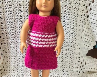 """American girl/18"""" skirt and top"""