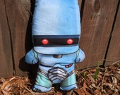 ROM Spaceknight Parody Plush