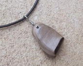 Petrified Wood pendant necklace - jewelry for men male guy - handmade by NaturesArtMelbourne
