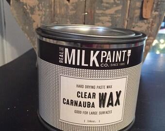 Clear Carnauba Wax, for furniture, cabinets wax, sealing, finishing