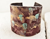 UNIQUE Bracelets Unusual Cuff Painted Jewelry Wide Wrist Cuffs Bands
