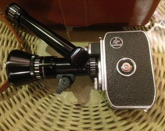 "bolex paillard pan cinor ""40"" movie camera package"