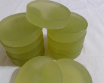 Tea Tree & Hemp Shampoo Bars   -     (8)  Round Sliced Bars     2 Lb Total Wt