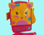Personalized Stephen Joseph FOX Themed Lunch Pal Lunchbox-Embroidered Monogramming Included In Price
