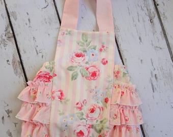 Little Princess Shabby Retro romper, sunsuit, chic, custom sizes 0-3months, 3-6months,6-12months, 12-18 months, 18-24months
