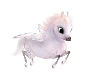 Little Pegasus 8x10 print
