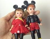 Micky Minne Mouse McDonald's Toys Happy Meal Dolls Figurines