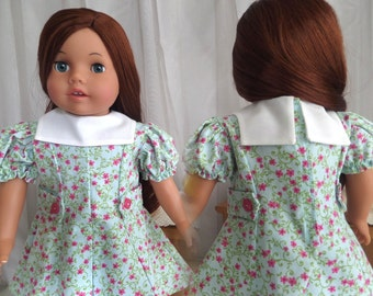 18 Inch Doll Clothes / Doll Dress / Dress / Doll Clothes / Doll Clothing / Doll Accessories / Fits American Girl Doll - 1028