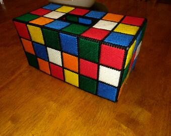 Rubik's Cube XL Tissue Box Cover
