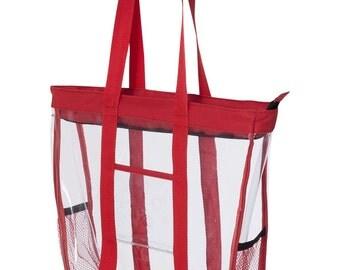 Clear Tote Bag Stadium Tote Travel Bag