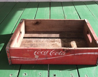 Vintage Coca Cola Crate Without Dividers