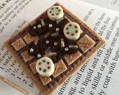 Belgian Waffle Brooch - Syrup & Sweets - Hooray for Breakfast