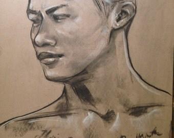 MeKnow portrait drawing