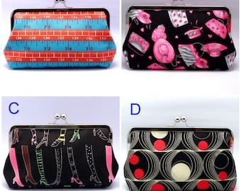 BIG SALE - Large clutch purse (GP6)