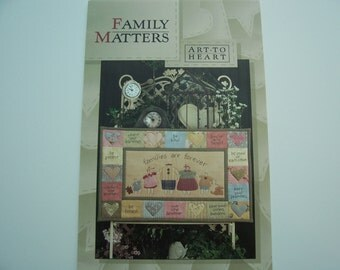 WALL HANGING QUILT Pattern   -  Family Matters  -    6.00