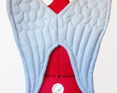 Sturdy Angel wings, choose from two grey shades. Two Sizes.
