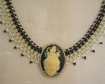GODDESS of the SEA CAMEO Necklace